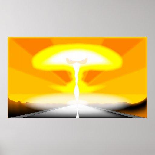 """Armageddon"" Poster."