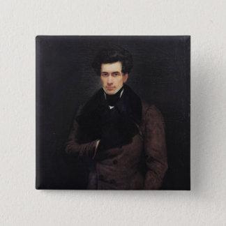 Armand Carrel 15 Cm Square Badge