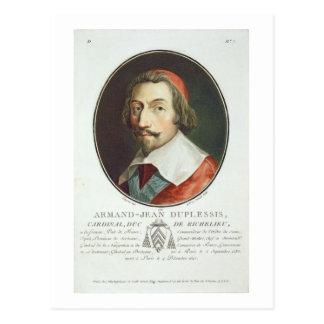 Armand Jean Duplessis Cardinal Duc de Richelieu Post Cards