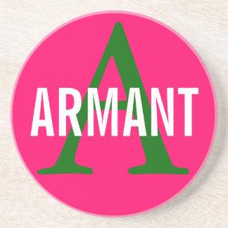 Armant Breed Monogram Beverage Coasters
