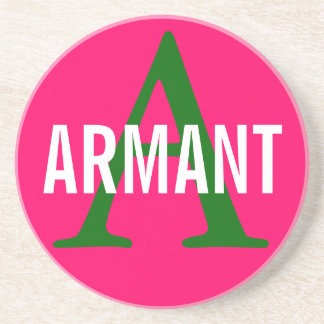 Armant Breed Monogram Beverage Coasters