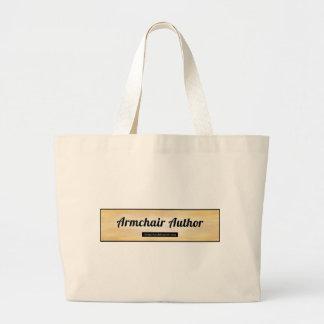 Armchair Author.jpg Jumbo Tote Bag