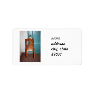 Armchair Security Address Label