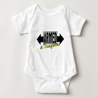 Armed & Dangerous Baby Bodysuit
