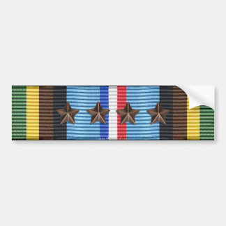 Armed Forces Expeditionary Medal 5th Award Sticker Bumper Stickers