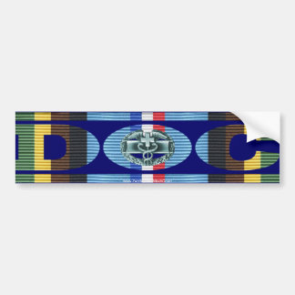 Armed Forces Expeditionary Medal Doc - CMB Car Bumper Sticker