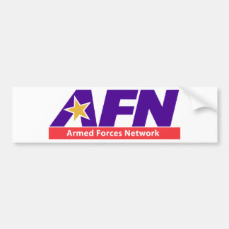 Armed Forces Network Bumper Stickers