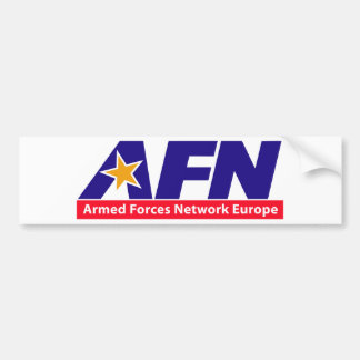 Armed Forces Network Europe Bumper Stickers