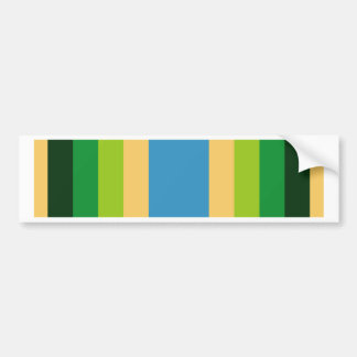 Armed Forces Service Ribbon Bumper Sticker