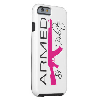 Armed & Polite, iPhone 6/6s, Tough Tough iPhone 6 Case