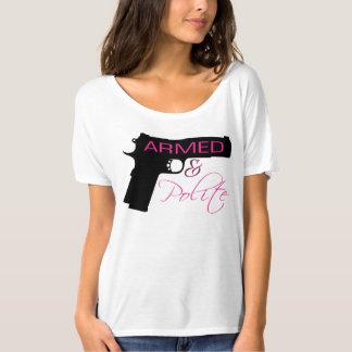 Armed & Polite, Women's Bella Slouchy T-Shirt