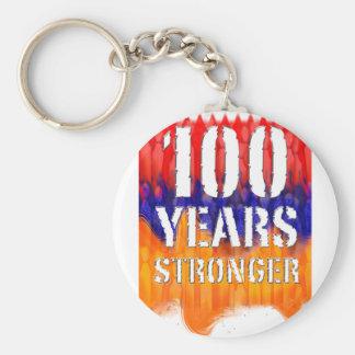 Armenia 100 Years Stronger Anniversary Key Ring