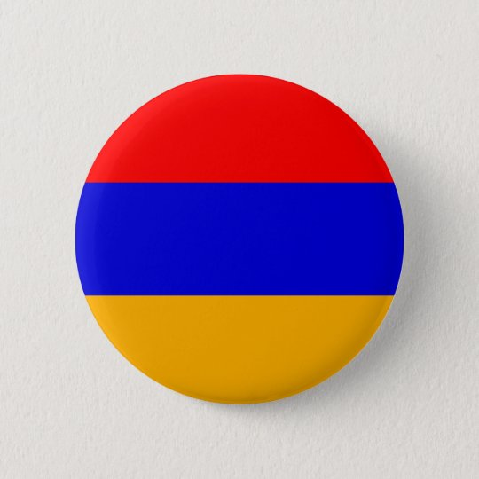 Armenia - Armenian Flag 6 Cm Round Badge