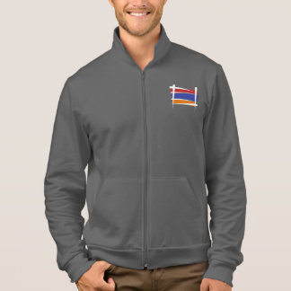 Armenia Brush Flag Jacket