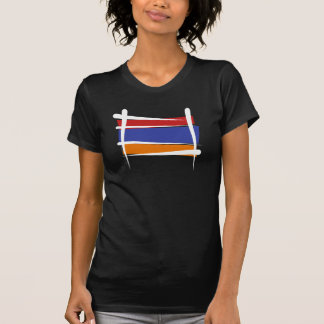 Armenia Brush Flag T-Shirt