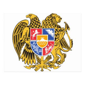 Armenia Coat of arm AM Postcard