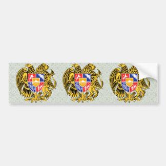 Armenia Coat of Arms detail Bumper Sticker