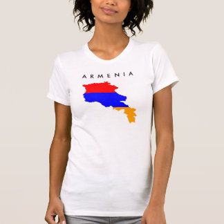 armenia country flag map shape symbol T-Shirt