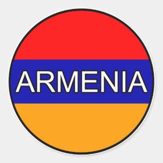 Armenia Euro Sticker