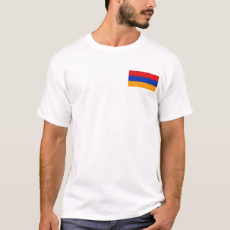 Armenia Flag and Map T-Shirt