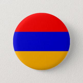 Armenia Flag; Armenian 6 Cm Round Badge