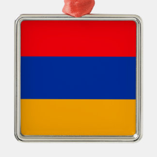 Armenia Flag Christmas Ornament