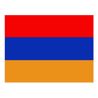Armenia Flag Postcard