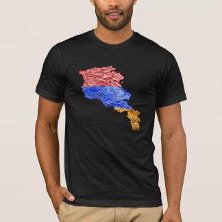 Armenia Flagcolor Map T-Shirt