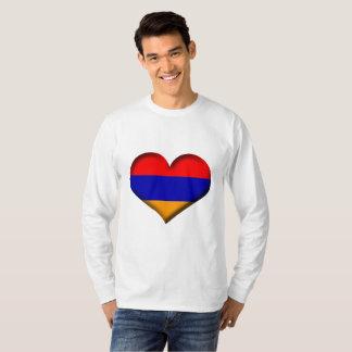 Armenia Heart Flag T-Shirt