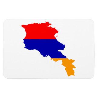 ARMENIA MAP MAGNET