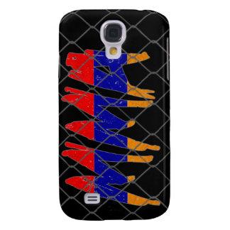 Armenia MMA black iphone 3g phone case Samsung Galaxy S4 Case
