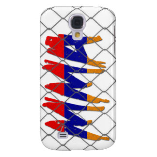 Armenia MMA white iphone 3g phone case Galaxy S4 Case