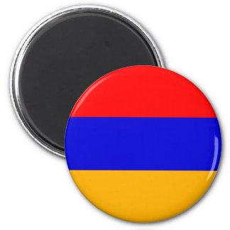 Armenia National Flag 6 Cm Round Magnet
