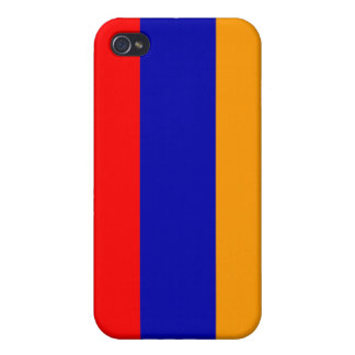 Armenia National Nation Flag  Cover For iPhone 4