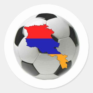 Armenia national team classic round sticker