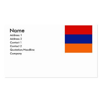 Armenia old business card templates