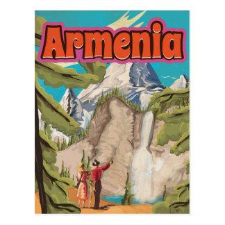 Armenia Vintage Travel Poster Postcard