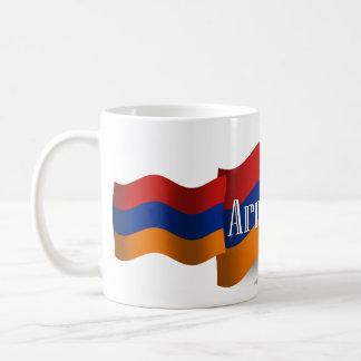 Armenia Waving Flag Coffee Mug
