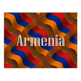 Armenia Waving Flag Postcard
