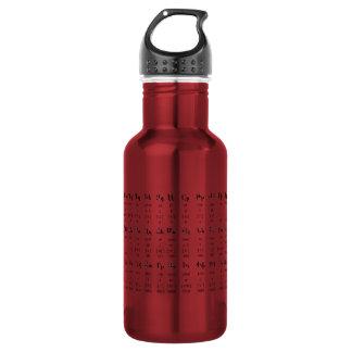 Armenian Alphabet 532 Ml Water Bottle