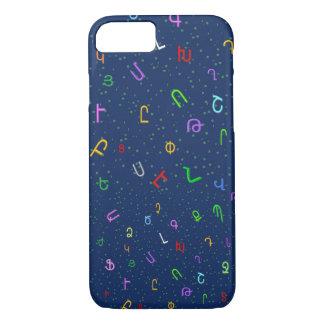 Armenian alphabet iPhone 7 case Հայոց այբուբեն