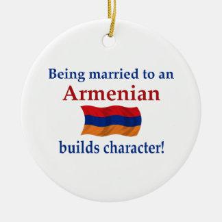 Armenian Builds Character Christmas Ornament