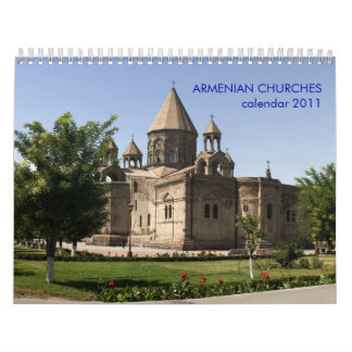 ARMENIAN CHURCHES WALL CALENDARS