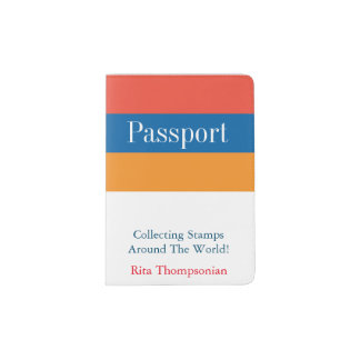 Armenian Colors | Passport Holder