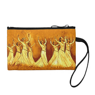 Armenian Dancers Bagettes Bag Coin Purses