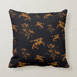 Armenian David of Sassoun Polyester Throw Pillow