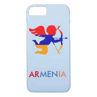 Armenian Flag Cupid iPhone 7 case