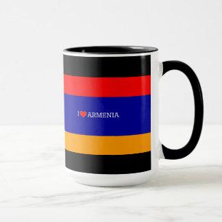 Armenian Flag: I Love Armenia Mug