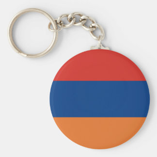 Armenian Flag Key Ring