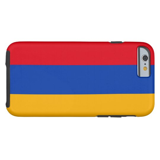 Armenian Flag Tough iPhone 6 Case